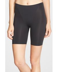 Spanx | Black 'trust Your Thinstincts' Mid Thigh Shaper | Lyst