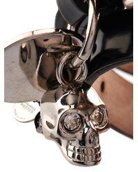 Alexander McQueen | Black Wraparound Leather Bracelet for Men | Lyst