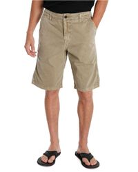 Lucky Brand | Natural Vista Straight Leg Shorts for Men | Lyst