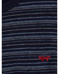 Wolsey | Blue Merino Stripe Crew Neck Pull Over Jumpers for Men | Lyst