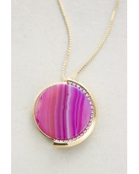 Sarah Magid - Pink Orphism Pendant Necklace - Lyst