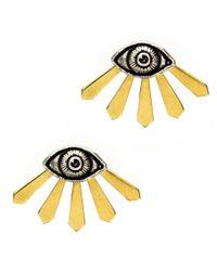 Pamela Love | Yellow Illuminas Ear Jackets | Lyst