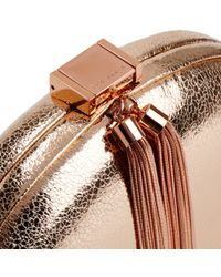 Ted Baker - Pink Hartly Glitter Clutch - Lyst
