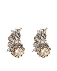 Erickson Beamon - Metallic Velocity Earrings - Lyst