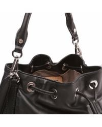 MZ Wallace | Black Leather Mini Rome | Lyst
