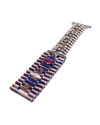 Iosselliani | Blue Faded Ink Rose Bracelet | Lyst