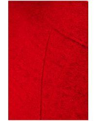 BOSS Orange - Red 'obecki' | Virgin Wool Blend Bonded Car Coat - Lyst
