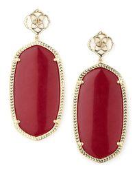 Kendra Scott - Pink Davey Earrings - Lyst
