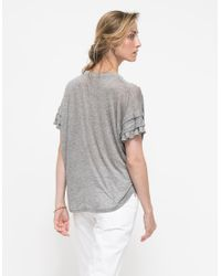 Which We Want | White Ana Tee | Lyst