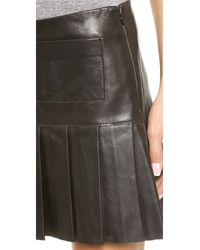 Love Leather - The Brit Skirt - Black - Lyst