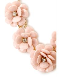 Forever 21 - Pink Kitschy Floral Necklace - Lyst