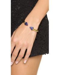 Vita Fede - Titan Stone Bracelet Goldblue - Lyst
