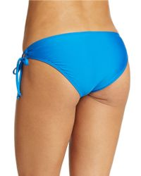 Splendid | Blue Side Tie Hipster Bikini Bottom | Lyst