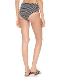 Solid & Striped - Black Grace Bikini Bottoms - Lyst