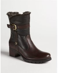 Blondo | Brown Fantasia Shearling-lined Buckle Boots | Lyst