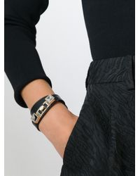 Proenza Schouler - Black 'ps11' Bracelet - Lyst