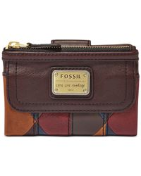 Fossil | Multicolor Emory Leather Multifunction Indexer | Lyst