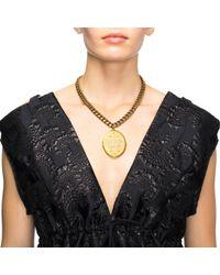 Lulu Frost - Metallic New Crystal Clear Message Locket Short Necklace - Lyst
