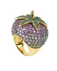 Noir Jewelry - Metallic Espirito Ring - Lyst