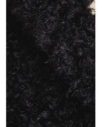 Steve Madden - Black Gallery Glamour Coat In Noir - Lyst
