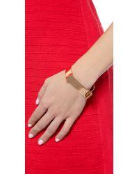 Miansai - Pink Hudson Cuff - Rose Gold - Lyst