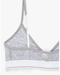 Sloane & Tate - Gray The Buckingham Bra - Lyst