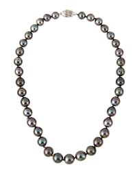 Belpearl - Multicolor Tahitian Pearl Necklace - Lyst