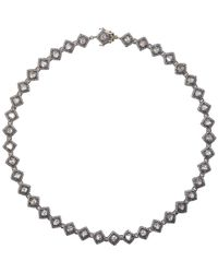 Munnu | Metallic Women's Single Line Necklace | Lyst
