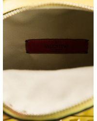 Valentino - Yellow 'Rockstud' Backpack - Lyst