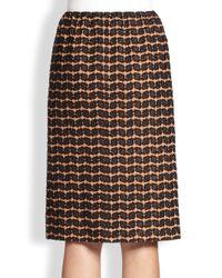 A Detacher - Embroidered Floral Skirt - Lyst