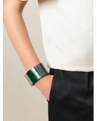Marni | Green Horn Cuff | Lyst