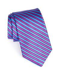 Ted Baker - Purple Woven Silk Tie for Men - Lyst