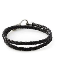 Tod's - Brown Braided Bracelet - Lyst