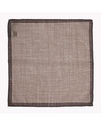 Tommy Hilfiger - Brown Wool Pocket Square for Men - Lyst