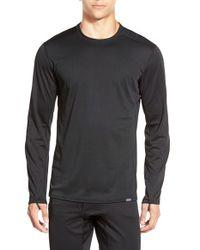 Patagonia - Black 'capilene Midweight' Base Layer Long Sleeve Shirt for Men - Lyst