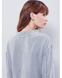 Free People - Green Womens Team Spirit Pullover - Lyst