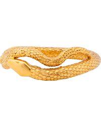 Aurelie Bidermann - Metallic Gold Plated Tao Bracelet - Lyst