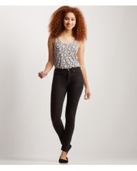 Aéropostale | Black Seriously Stretchy Color Wash High-waisted Jegging | Lyst