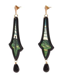 Anna E Alex | Green La Campagna Earrings | Lyst