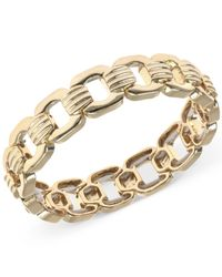 Jones New York | Metallic Gold-tone Chain-link Stretch Bracelet | Lyst