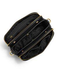 MICHAEL Michael Kors | Black Bedford Medium Double-zip Messenger Bag | Lyst