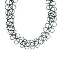 ASOS | Black '90s Tattoo Choker Necklace | Lyst
