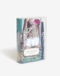 Ted Baker | Blue Swan Print Boxer Shorts for Men | Lyst