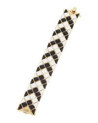 Trina Turk | Black Mosaic Flex Bracelet | Lyst