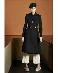 Stella McCartney - Black Wool Felt Coppola Hat - Lyst