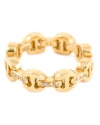 Hoorsenbuhs - Yellow 'dame' Tri-link Ring - Lyst