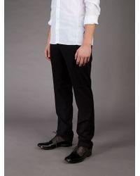 L'éclaireur - Black Straight Leg Trouser for Men - Lyst