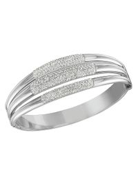 Swarovski | Metallic Cypress Crystal Bangle Bracelet | Lyst