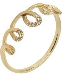 Annoushka - Blue Coronet 14ct Yellow-gold And Sapphire Ring - Lyst