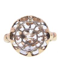 Laurent Gandini | Metallic Scalloped Ring | Lyst